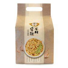 Fu Chung Village Dried Noodles Garlic Sesame Sauce 17.63oz(500g), Fu Chung Village 드라이 누들 갈릭 참깨 소스 17.63oz(500g)