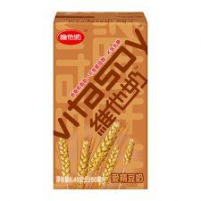 Vitasoy Malt Soy Drink 8.45 fl.oz(250ml) X 6 Pcs, Vitasoy 보리맛 두유 8.45 fl.oz(250ml) X 6 Pcs,  維他 麥精豆奶 8.45 fl.oz(250ml) X 6 Pcs