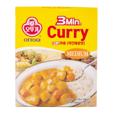 3 Minutes Curry Medium Hot Flavor 6.7oz(190g)