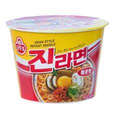 Jin Ramen Cup Hot Flavor 3.88oz(110g)