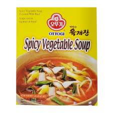Ottogi Spicy vegetable Soup 1.47oz(42g), 오뚜기 맛있는 육개장 1.47oz(42g)