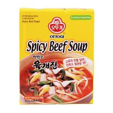 Ottogi Spicy Beef Flavored Soup 1.47oz(42g)