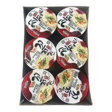 Paldo Kokomen Cup Spicy Chicken Flavor 2.29oz(65g) 6 Cups, 팔도 꼬꼬면 소컵 2.29oz(65g) 6컵