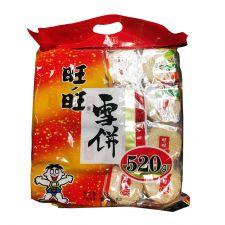 WANT WANT Shelly Senbei Rice Cracker 18.34oz(520g), WANT WANT 센베이 쌀과자 18.34oz(520g)