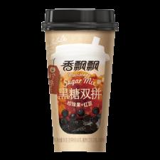 Xiang Piao Piao Muscovado Sugar Mix Boba Milk Tea 3.1oz(90g) , Xiang Piao Piao 마스코바도 설탕 버블티 3.1oz(90g), 香飄飄 珍珠系 黑糖双拼 3.1oz(90g)