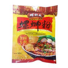 Luobawang Snails Rice Noodle 10oz(280g), Luobawang 우렁이 쌀국수 10oz(280g), 螺霸王 螺蛳粉 10oz(280g)