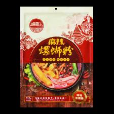 Luobaowang Spicy Rice Noodle 11.11oz(315g), Luobaowang 마라 우렁이 쌀국수 1.11oz(315g), 螺霸王 麻辣螺螄粉 11.11oz(315g)