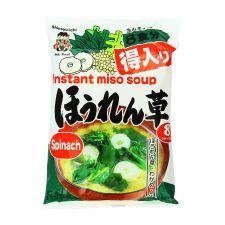 Shinsyu-ichi Instant Miso Soup Spinach 5.76oz(172.8g), Shinsyu-ichi 인스턴트 미소수프 Spinach 5.76oz(172.8g)