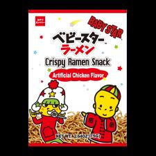 Crispy Ramen Snack Chicken Flavor 2.64oz(75g)