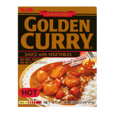 Golden Curry Sauce with Vegetables Hot 8.1oz(230g)