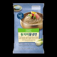 Pulmuone Cold Noodles with Radish Kimchi Broth 30.6oz(870g), 풀무원 동치미 물냉면 30.6oz(870g)