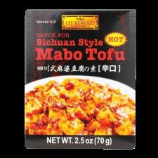 Lee Kum Kee Sauce for Sichuan Mabo Tofu 2.5oz(70g), 이금기 사천 마파두부 소스 2.5oz(70g), 李錦記 四川式麻婆豆腐の素 2.5oz(70g)