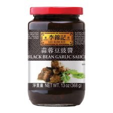 Lee Kum Kee Black Bean Garlic Sauce 13oz(368g), 이금기 블랙빈 갈릭 소스 13oz(368g), 李錦記 蒜蓉豆豉醬 13oz(368g)