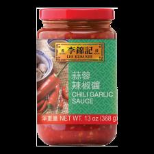 Lee Kum Kee Chili Garlic Sauce 13oz(368g), 이금기 칠리 갈릭 소스 13oz(368g), 李錦記 蒜蓉辣椒醬 13oz(368g)