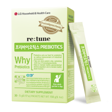 LG Household & Health Care Prebiotics 0.17oz(5g) x 30 Packets, LG 생활건강 프리바이오틱스 스틱형 0.17oz(5g) x 30포