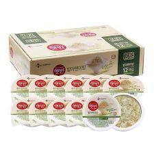 CJ Hetbahn Cooked Sprouted Brown Rice Box 7.4oz(210g) 12 Ea, CJ 햇반 발아현미밥 박스 7.4oz(210g) 12개입, CJ Hetbahn Cooked Sprouted Brown Rice Box 7.4oz(210g) 12 Ea