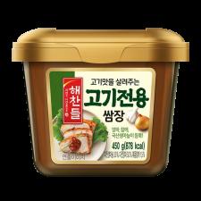 Haechandle Ssamjang Seasoned Spicy Soy Bean Paste 15.9oz(450g), 해찬들 고기전용 쌈장 15.9oz(450g)