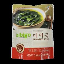 CJ Bibigo Seaweed Soup 17.63oz(500g), CJ 비비고 미역국 17.63oz(500g)