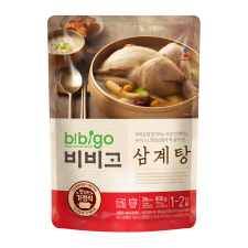 CJ Bibigo Chicken Soup with Ginseng 28.2oz(800g), CJ 비비고 인삼 삼계탕 28.2oz(800g)