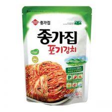 Chongga Whole Cabbage Kimchi (Poggi Kimchi) 17.6oz(500g), 종가집 종가 포기김치 17.6oz(500g)