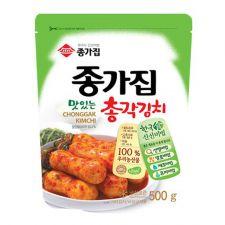 Chongga Ponytail Radish Kimchi (Chongkak Kimchi) 17.6oz(500g), 종가 총각김치 17.6oz(500g)
