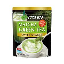 ITO EN Matcha Green Tea Sweet Powder 7oz(200g), 이토엔 말차 그린티 스윗 파우더 7oz(200g), 伊藤園 抹茶綠茶粉 含糖 7oz(200g)