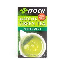 ITO EN Matcha Green Tea Peppermint Tea Bags 0.05oz(1.5g) 20 Tea Bags, 이토엔 말차 그린티 페퍼민트 0.05oz(1.5g) 20 티백