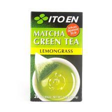 ITO EN Matcha Green Tea Lemongrass Tea Bags 0.05oz(1.5g) 20 Tea Bags, 이토엔 말차 그린티 레몬그라스 0.05oz(1.5g) 20 티백