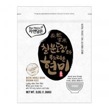 Raw Nature Nutri Whole Grain Brown Rice 3lb(1.36kg), 자연담은 칠분도정으로 부드러운 현미 3lb(1.36kg), Raw Nature Nutri Whole Grain Brown Rice 3lb(1.36kg)