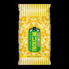 Haioreum Korean Style Corn Snack 7.93oz(225g), 해오름 추억의 맛 옛날과자 개나리콘 7.93oz(225g)