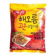 HAIO Red Pepper Powder Fine 4lb(1.82kg), HAIO 태양초 고운 고춧가루 4lb(1.82kg)