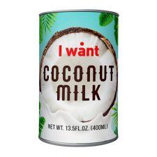 I want Coconut Milk 13.5 fl.oz(400ml),아이원트 코코넛 밀크 13.5 fl.oz(400ml)