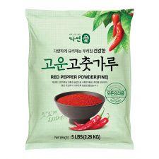 Greenation Red Pepper Powder (Fine) 5lb(2.26kg), 자연애 고운 고춧가루 5lb(2.26kg)