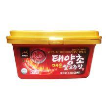 HAIO Red Pepper Paste Very Hot 2.2lb(1kg), HAIO 태양초 쌀 고추장 매운맛 2.2lb(1kg)