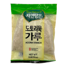 Raw Nature Acorn Starch 1lb(453g), 자연담은 도토리묵 가루 1lb(453g)