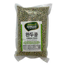 Raw Nature Green Peas 2lb(907g), 자연담은 완두콩 2lb(907g)