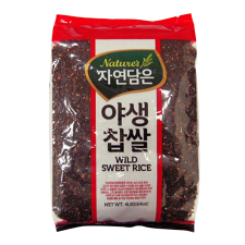 Nature's Wild Sweet Rice 4lb(1.81kg), 자연담은 야생찹쌀 4lb(1.81kg)