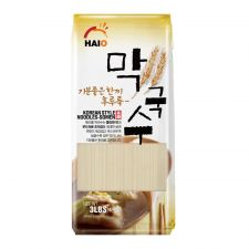 HAIO Oriental Style Noodles 3lb(1.4kg), HAIO 막국수 3lb(1.4kg), HAIO 生麵條 3lb(1.4kg)