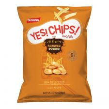Ohsung Yes! Chips! Roasted Potato Crisps 2.6oz(78g), 오성 예스칩스 구운 통감자맛 2.6oz(78g)