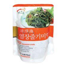 Haioreum Salted Brown Seaweed Stem 1lb(16oz), 해오름 청정해 염장미역줄기 1lb(16oz)