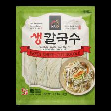 HAIO Fresh Knife-cut Noodle 2.2lb(1kg), HAIO 생칼국수면 2.2lb(1kg)