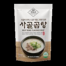 Beef Bone Soup 16.9 fl.oz(500ml), 진가 사골곰탕 16.9 fl.oz(500ml)