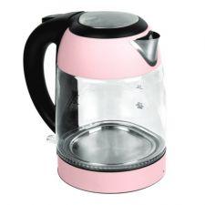 KuHAUS Electric Glass Kettle Pink 57.48oz(1.7L) (1200W) 쿠하우스 전기 유리 주전자 파스텔핑크 57.48oz(1.7L) (1200W)