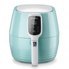 KuHAUS Touch-Screen Air Fryer Mint 1.32gal(5L), KuHAUS 터치스크린 에어 프라이어 민트 1.32gal(5L)
