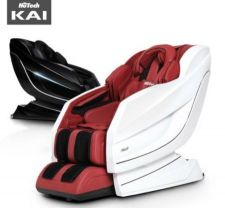 KAI Massage Chair (White&Burgundy)