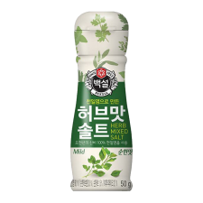 Beksul Seasoning Herb Salt Mild 1.77oz(50g), 백설 허브맛 솔트 순한맛 1.77oz(50g)
