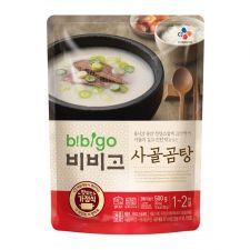 CJ Bibigo Beef Bone Broth Soup 17.6oz(500g), CJ 비비고 사골곰탕 17.6oz(500g)