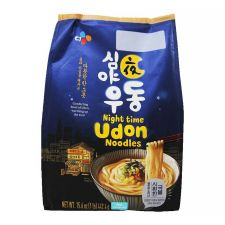 CJ Night Time Udon Noodles 15.6oz(442.4g), 씨제이 심야우동 15.6oz(442.4g)