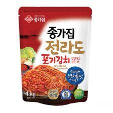 Chongga Whole Cabbage Kimchi (Namdo Poggi Kimchi) 2.2lb(1kg),  종가집 전라도 포기김치 2.2lb(1kg)