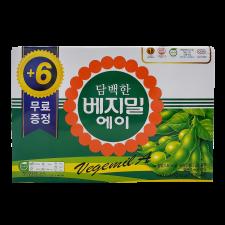 Dr. J Plain Vegemil A 6.4oz(190ml) 24 Packs, 정식품 담백한 베지밀 에이 6.4oz(190ml) 24팩